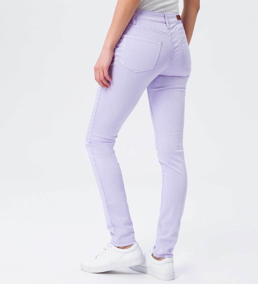 Jeans im Five-Pocket-Style in lavender
