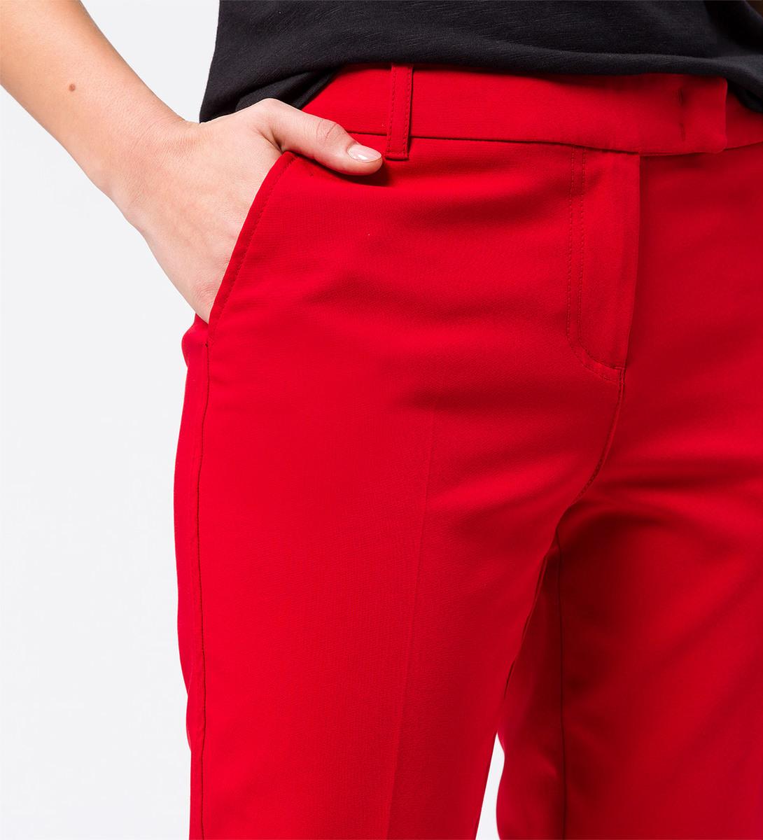 Hose mit Bügelfalten 28 Inch in chili red