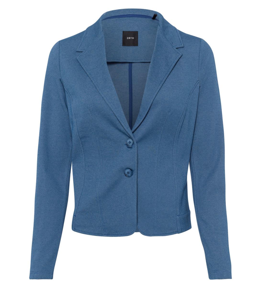 Blazer im sportlichen Design in blue