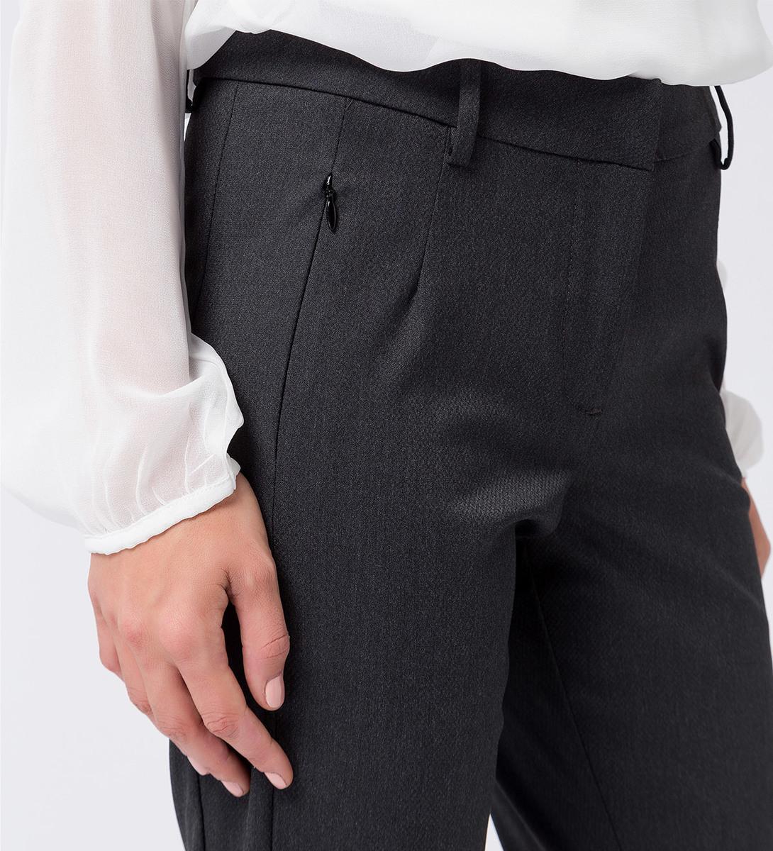 Hose mit Zip-Taschen 30 Inch in anthracite