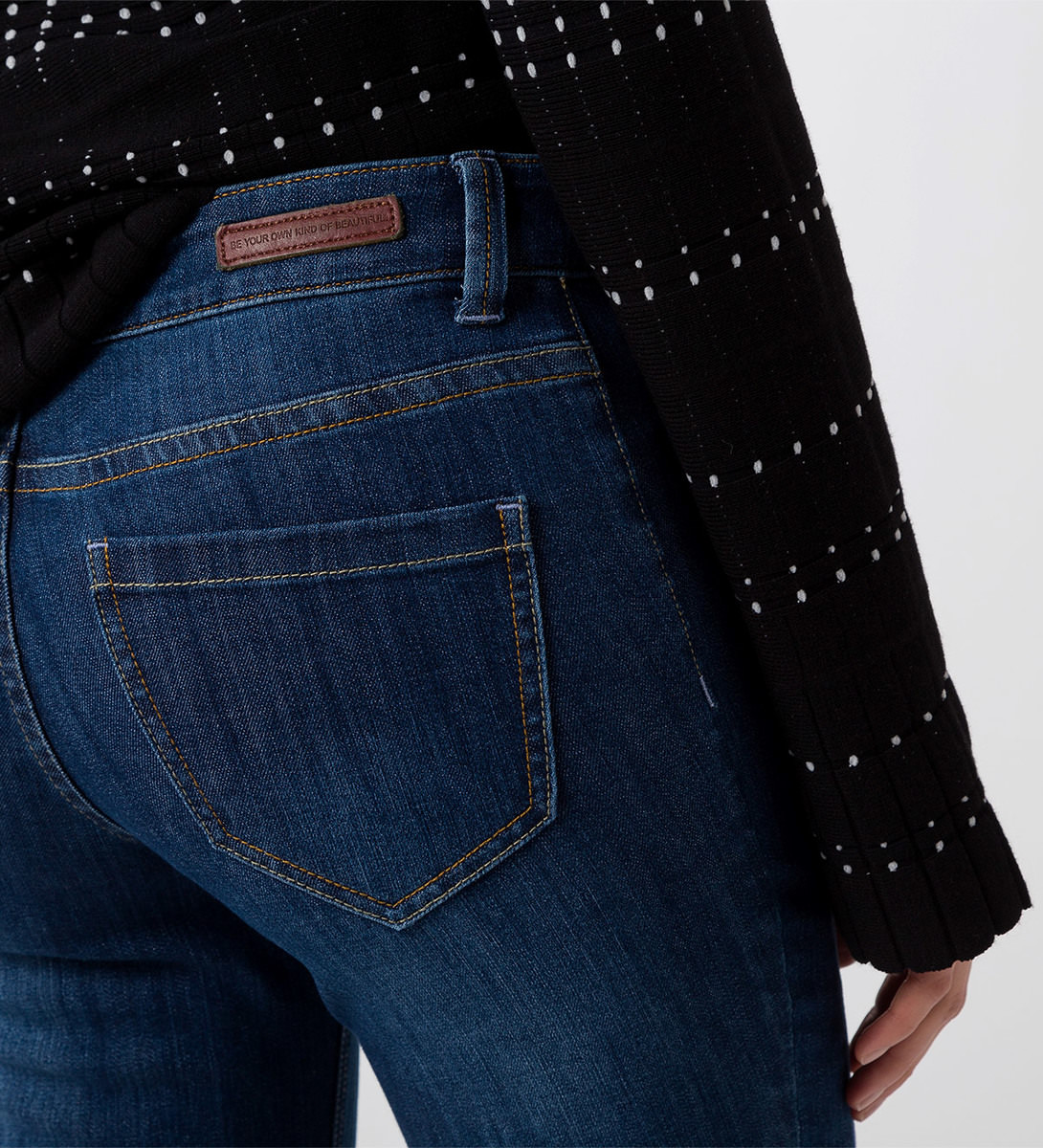 Jeans im Five-Pocket-Style 32 inch mid blue washed