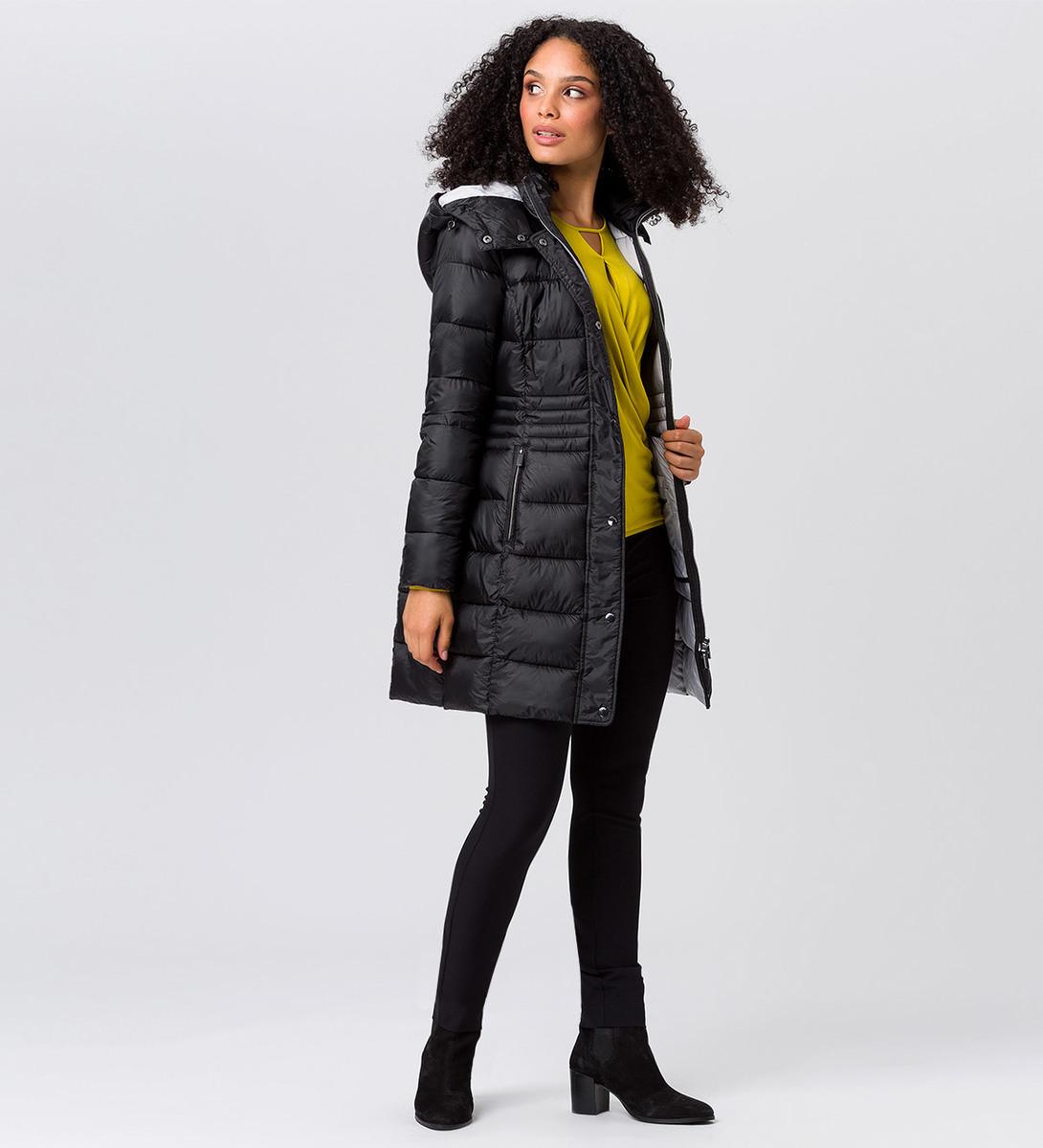 Jacke mit warmer Wattierung in black