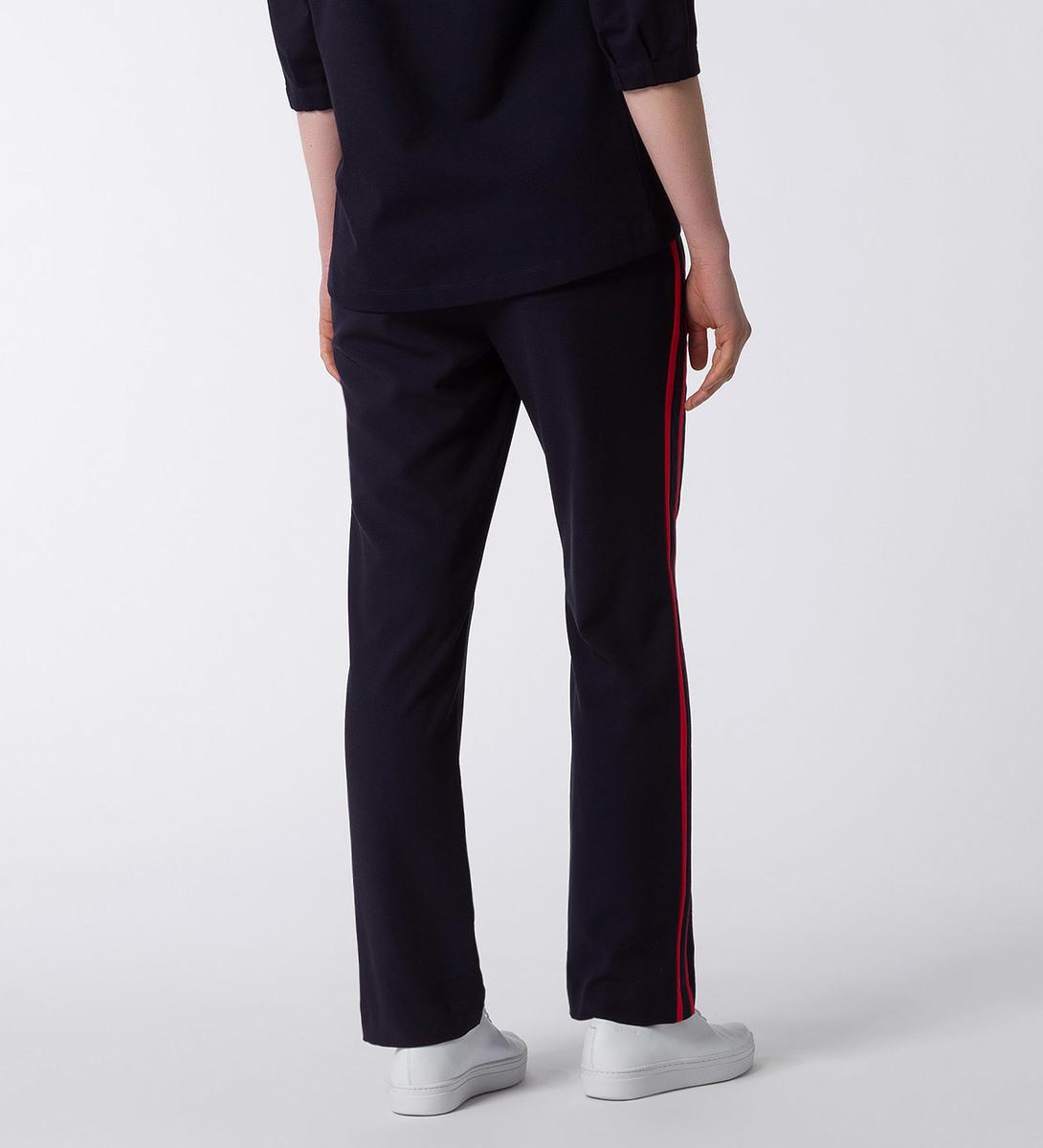 Hose mit Seitenstreifen 30 Inch in blue black