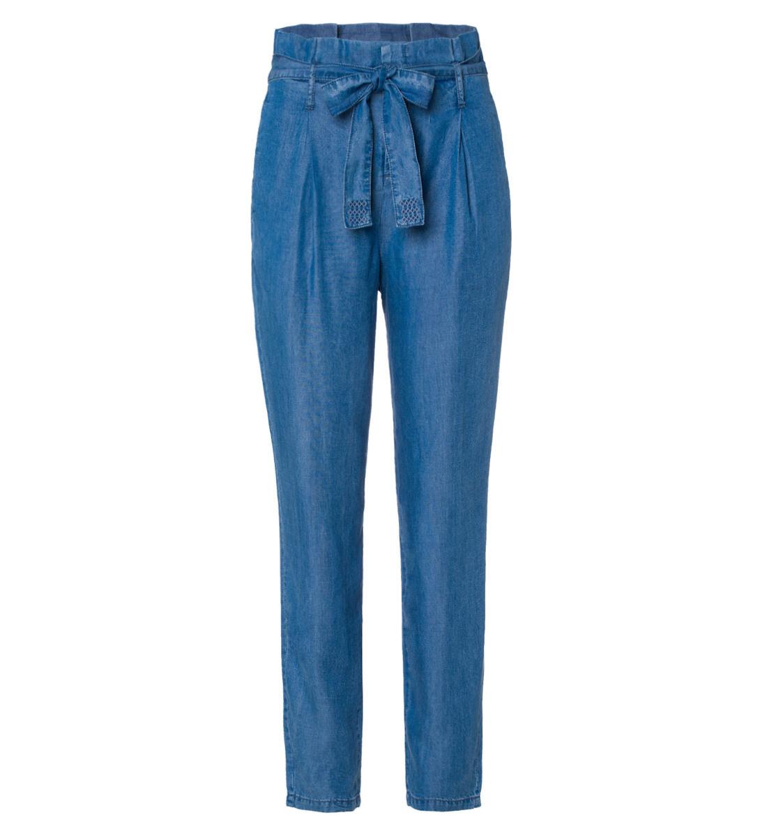 Leichte Jeanshose in light blue