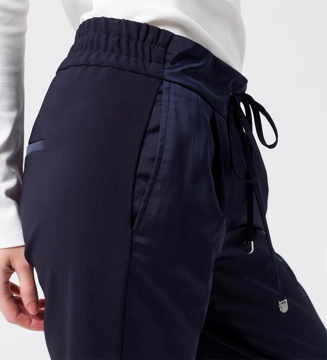 Hose mit Tunnelzug in blue black