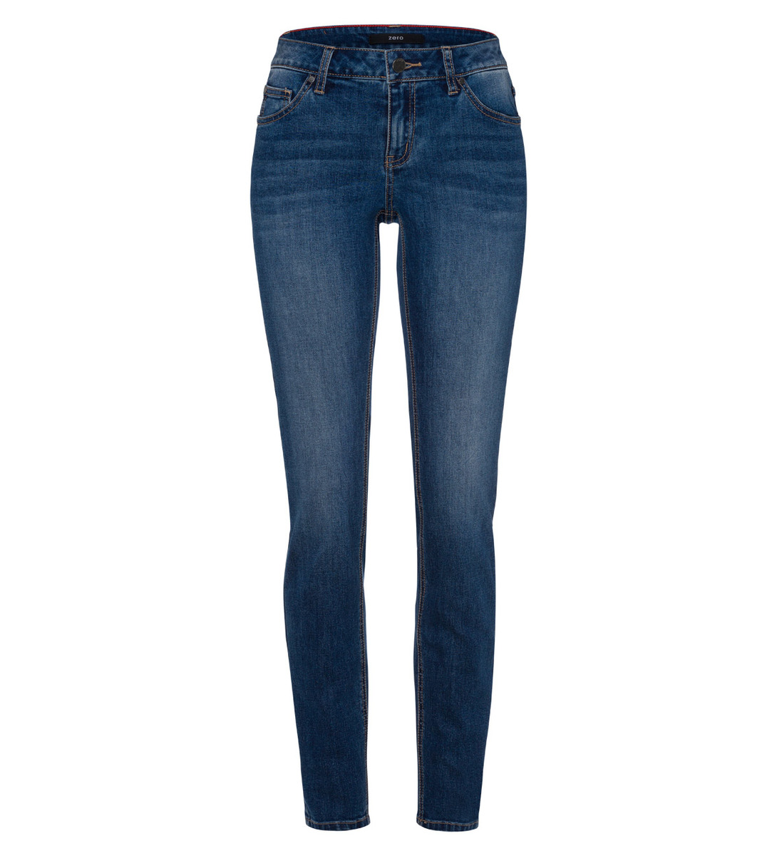 Jeans im Five-Pocket-Design 32 Inch in mid blue authentic wash out
