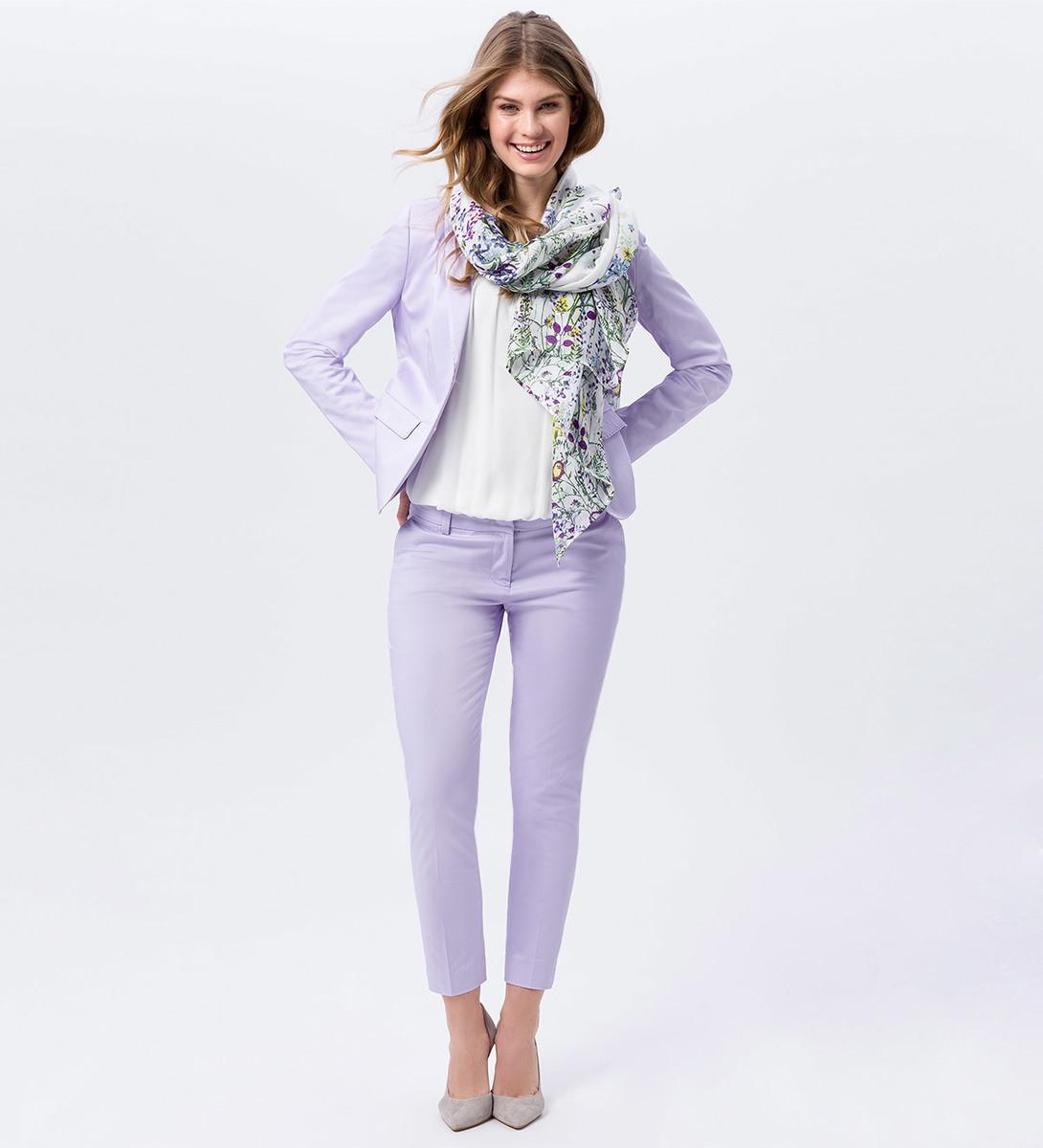 Hose mit Bügelfalte 28 Inch in lavender