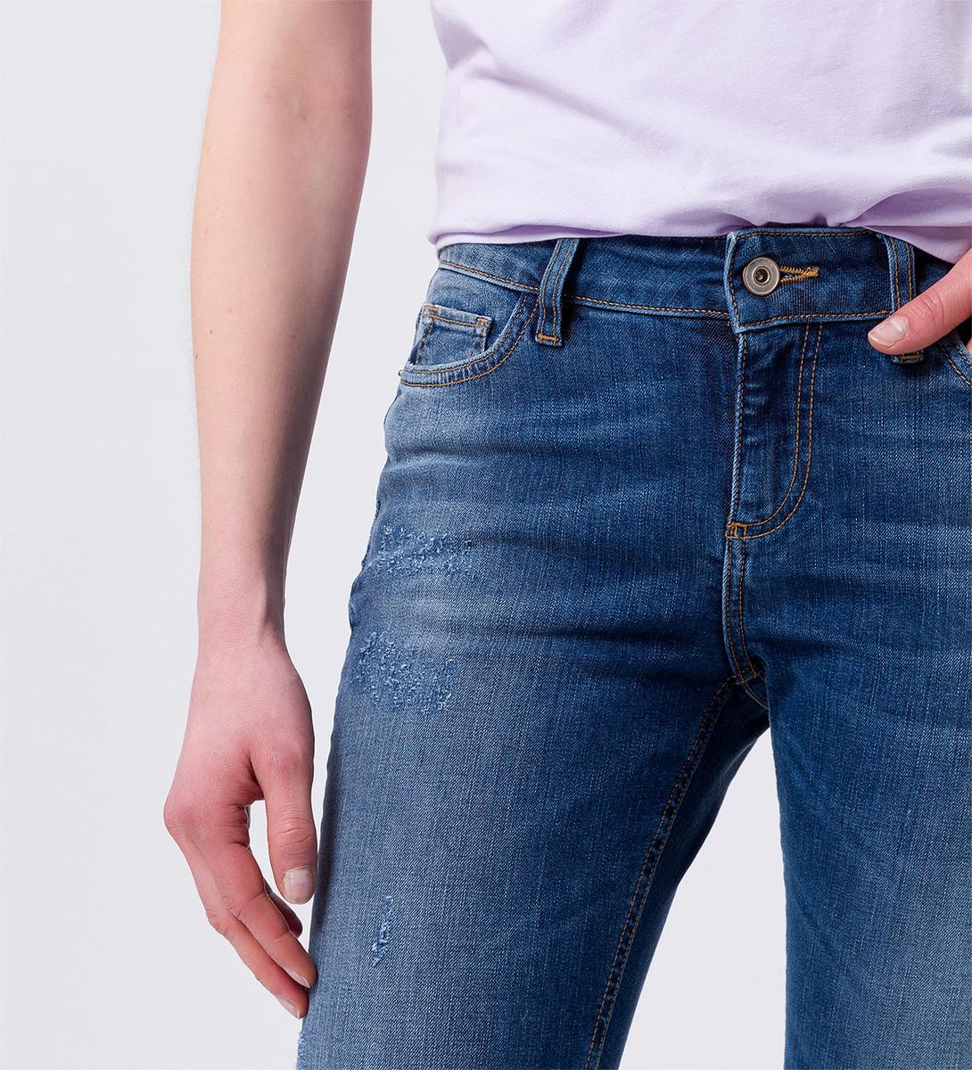 Slim Fit Jeans Im Used Look 30 Inch 60029