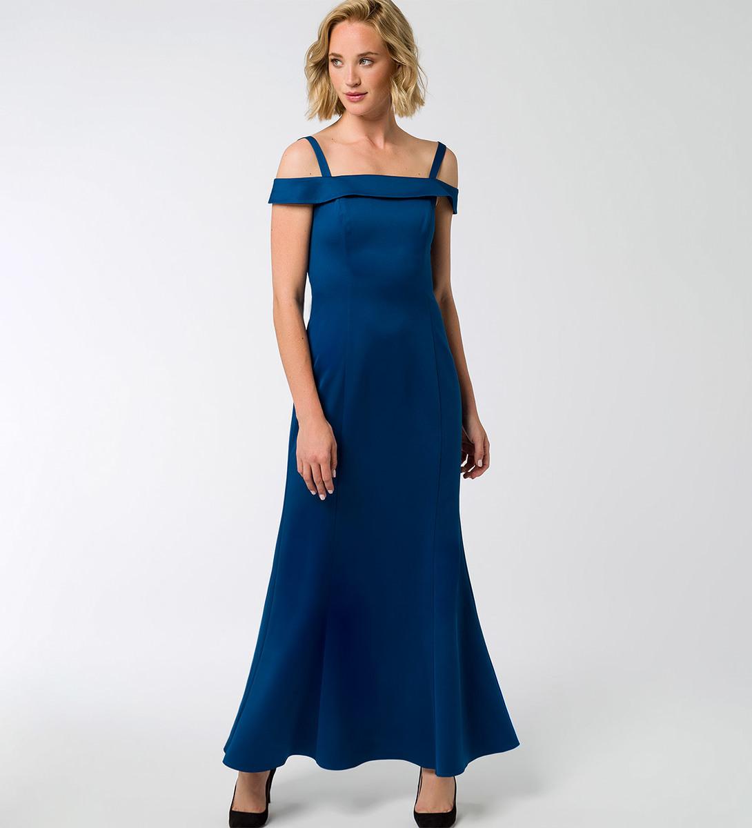Kleider carmen ausschnitt elegant