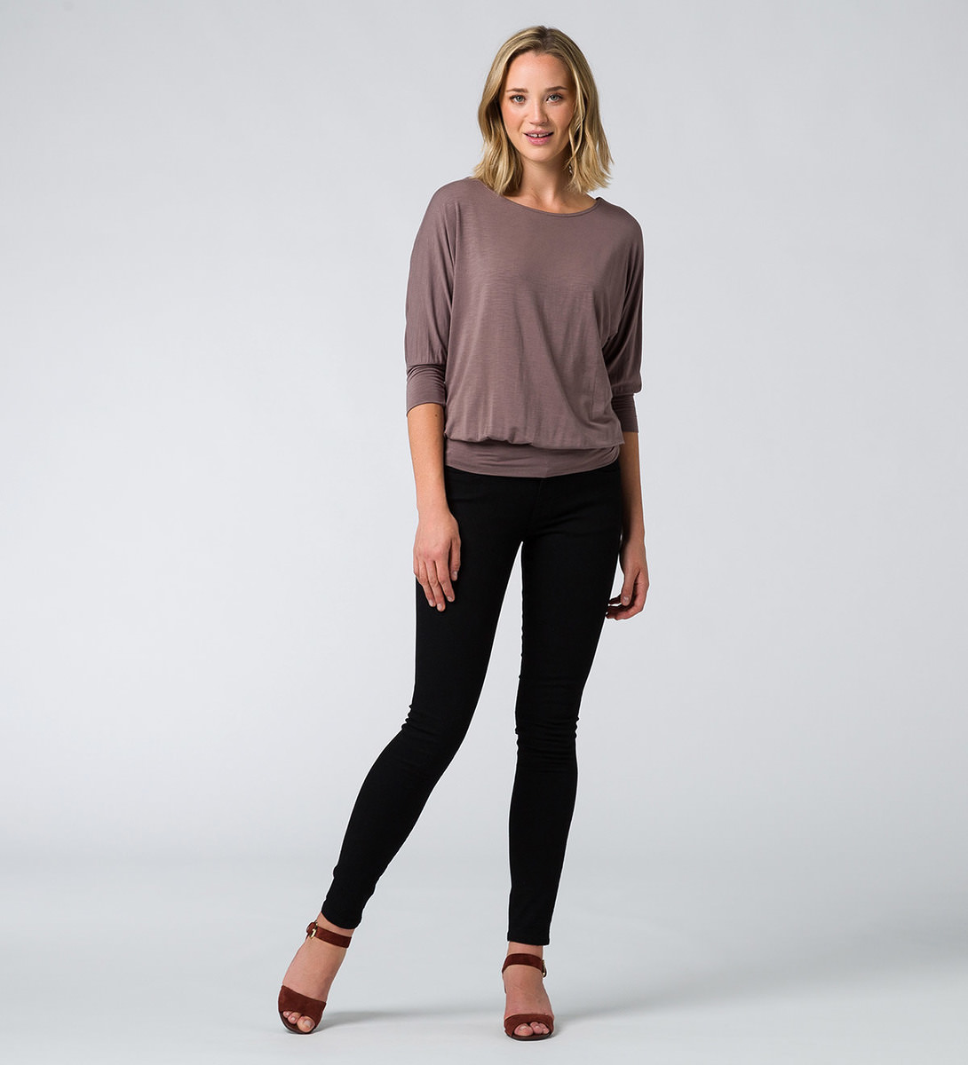 T-Shirt Nele in taupe