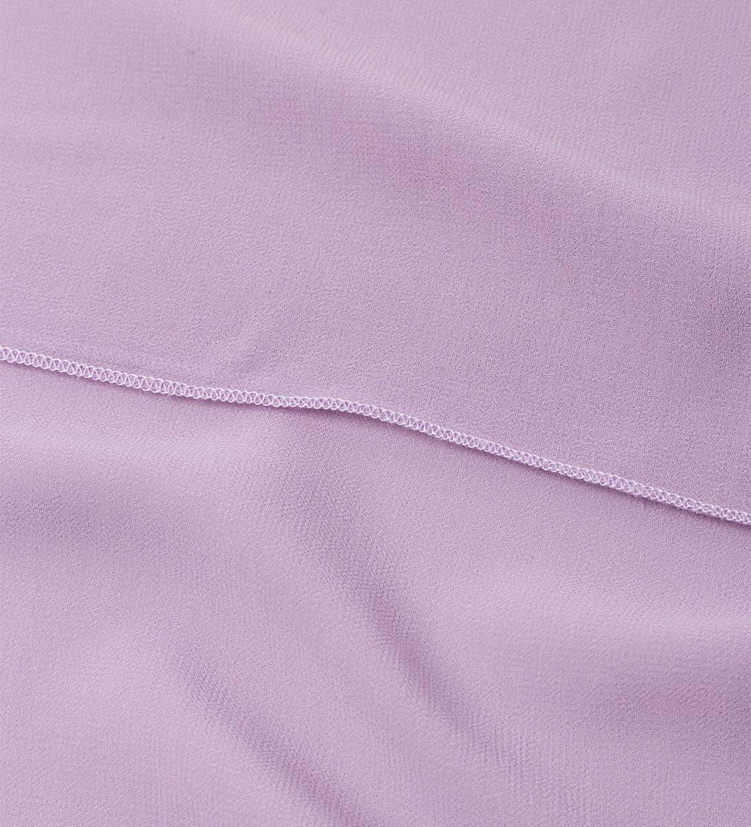 Tuch in unifarbener Optik in lavender