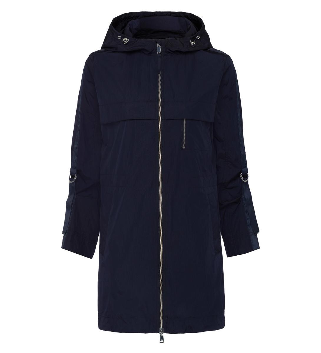 Jacke mit Armriegeln in blue black