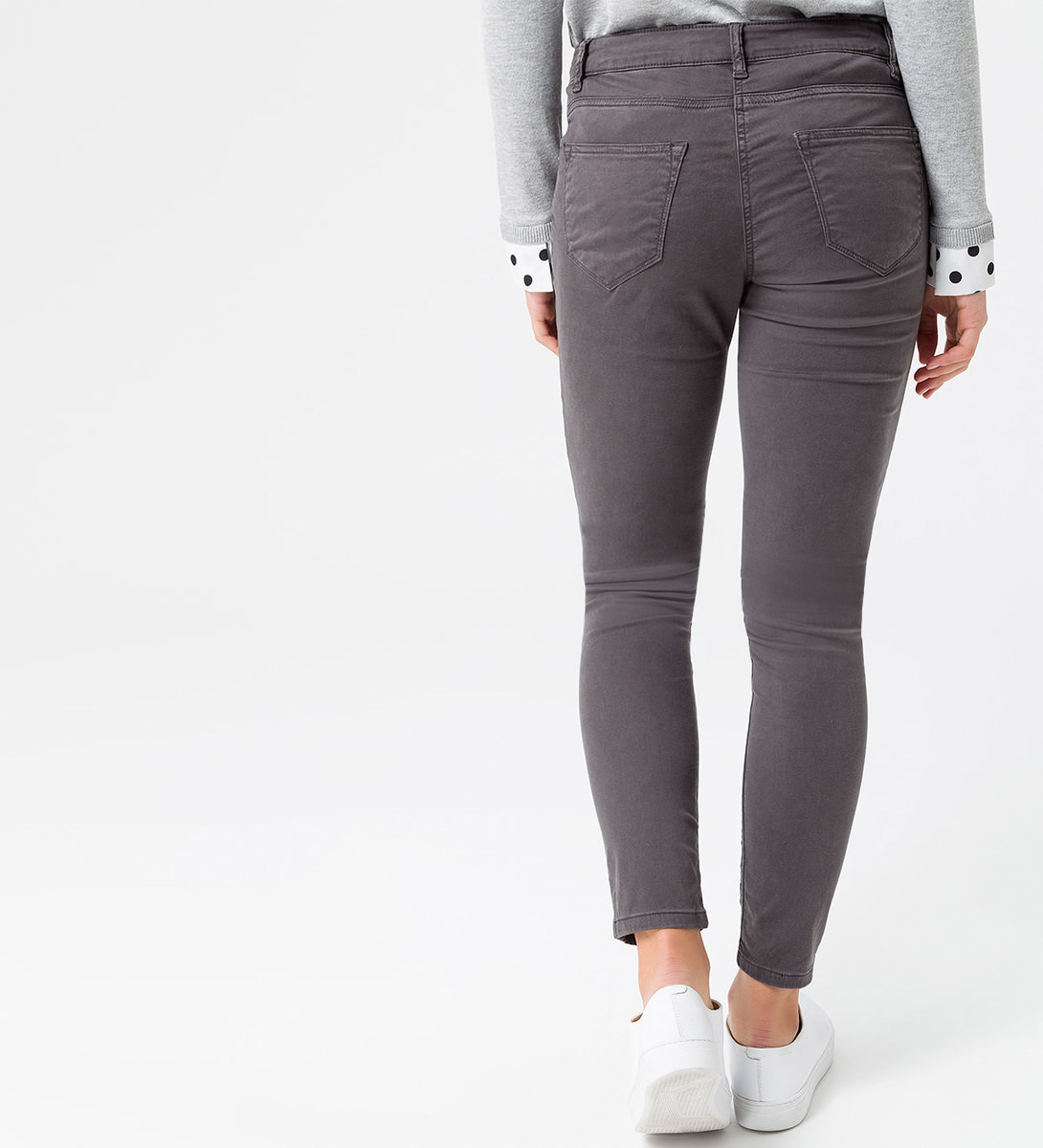 Jeans im 5-Pocket-Style in slate grey