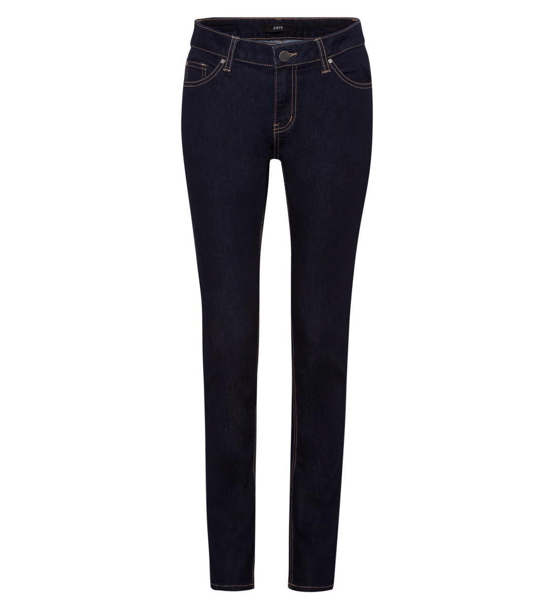 Jeans skinny fit 30 Inch in dark blue rinsed washed