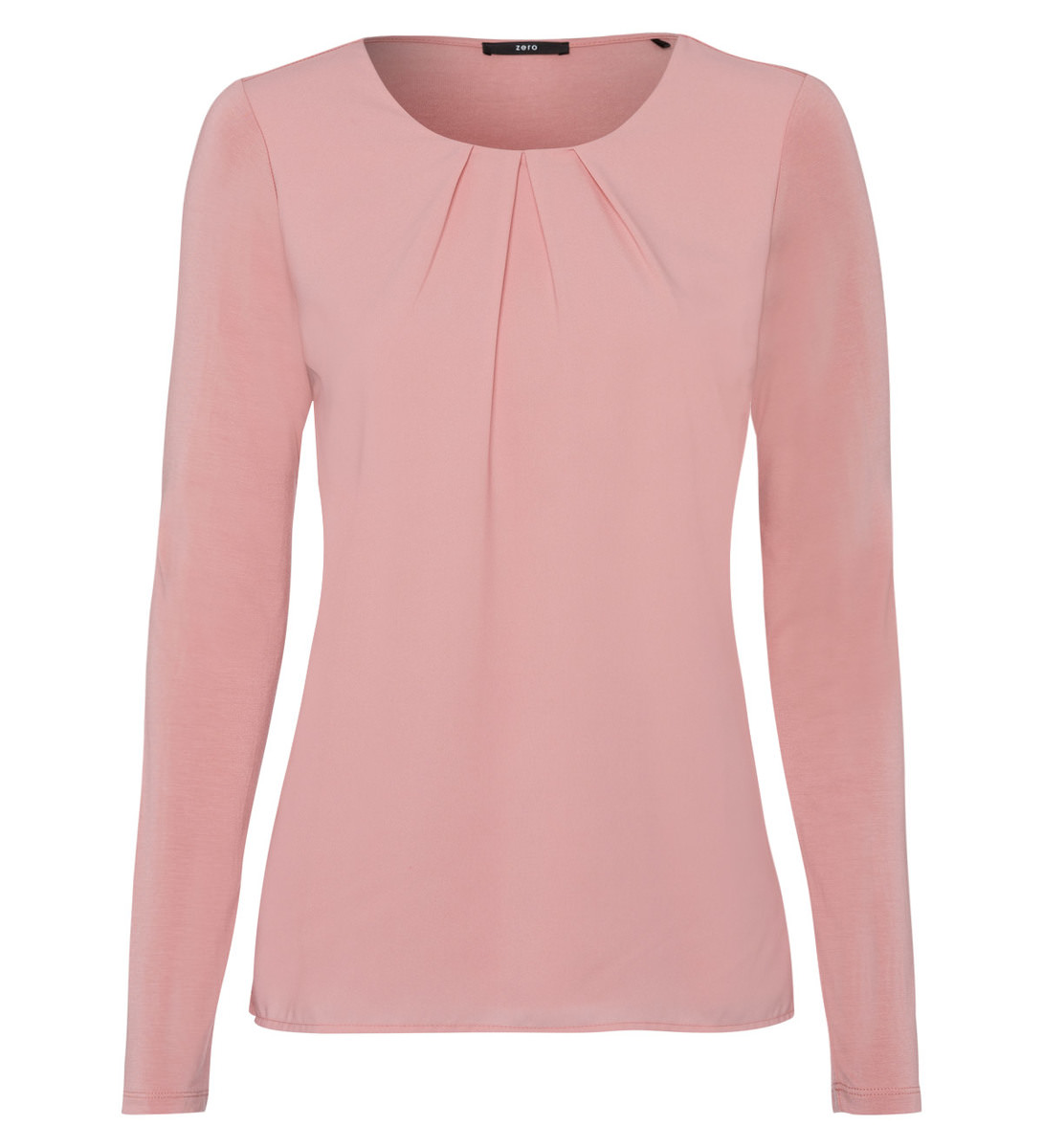 Blusenshirt in dusk rose