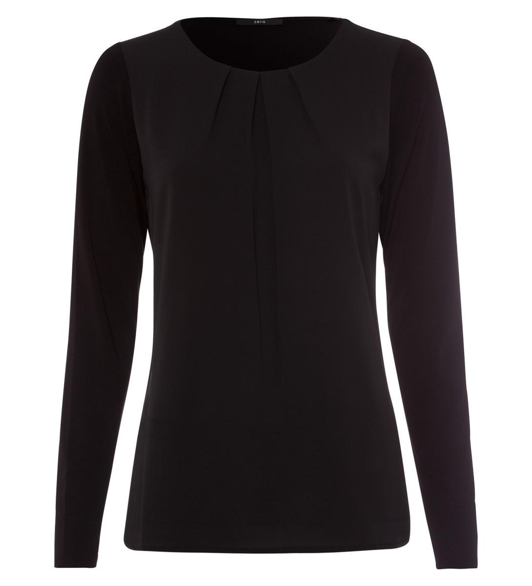 Blusenshirt in black