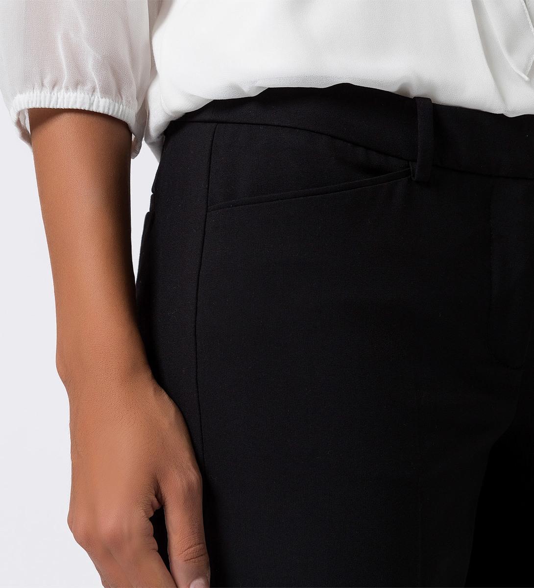Hose mit Bügelfalten in black