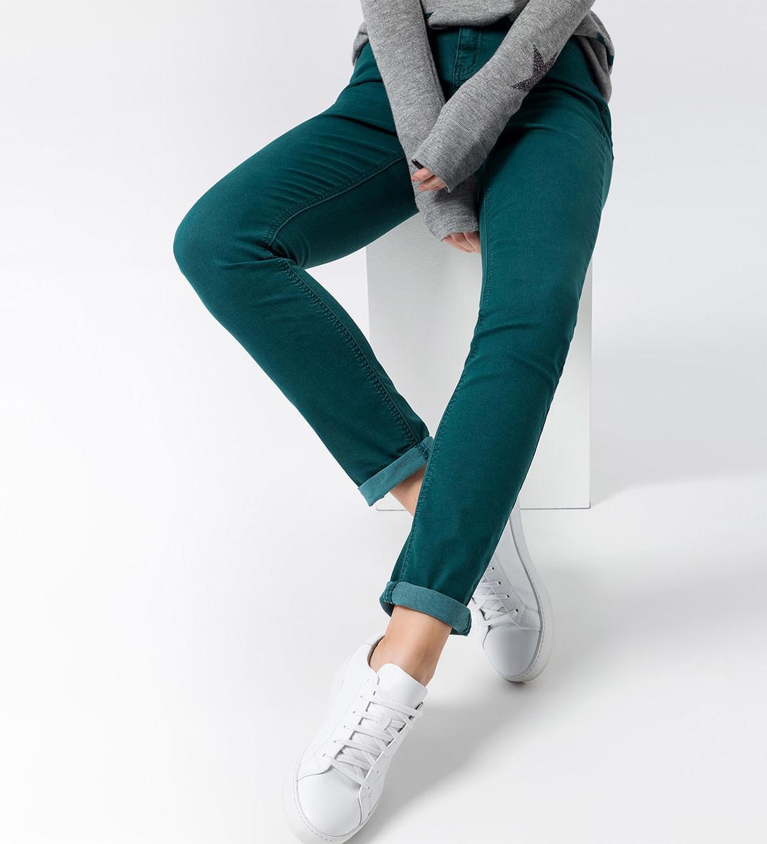Jeans schmales Bein 32 Inch in dark teal