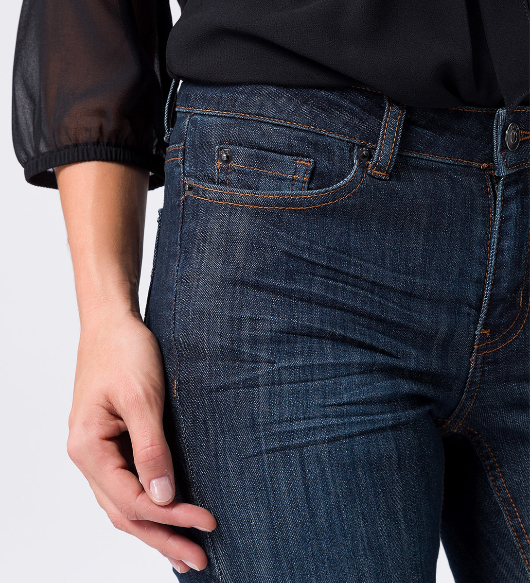 Jeans Slim fit  30 Inch in dark blue stone washed