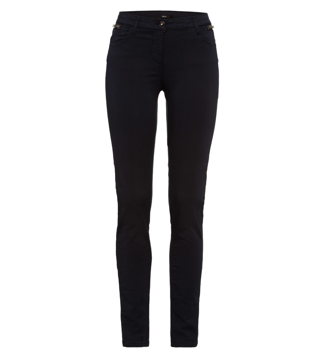 Hose im unifarbenen Design 32 Inch in blue black