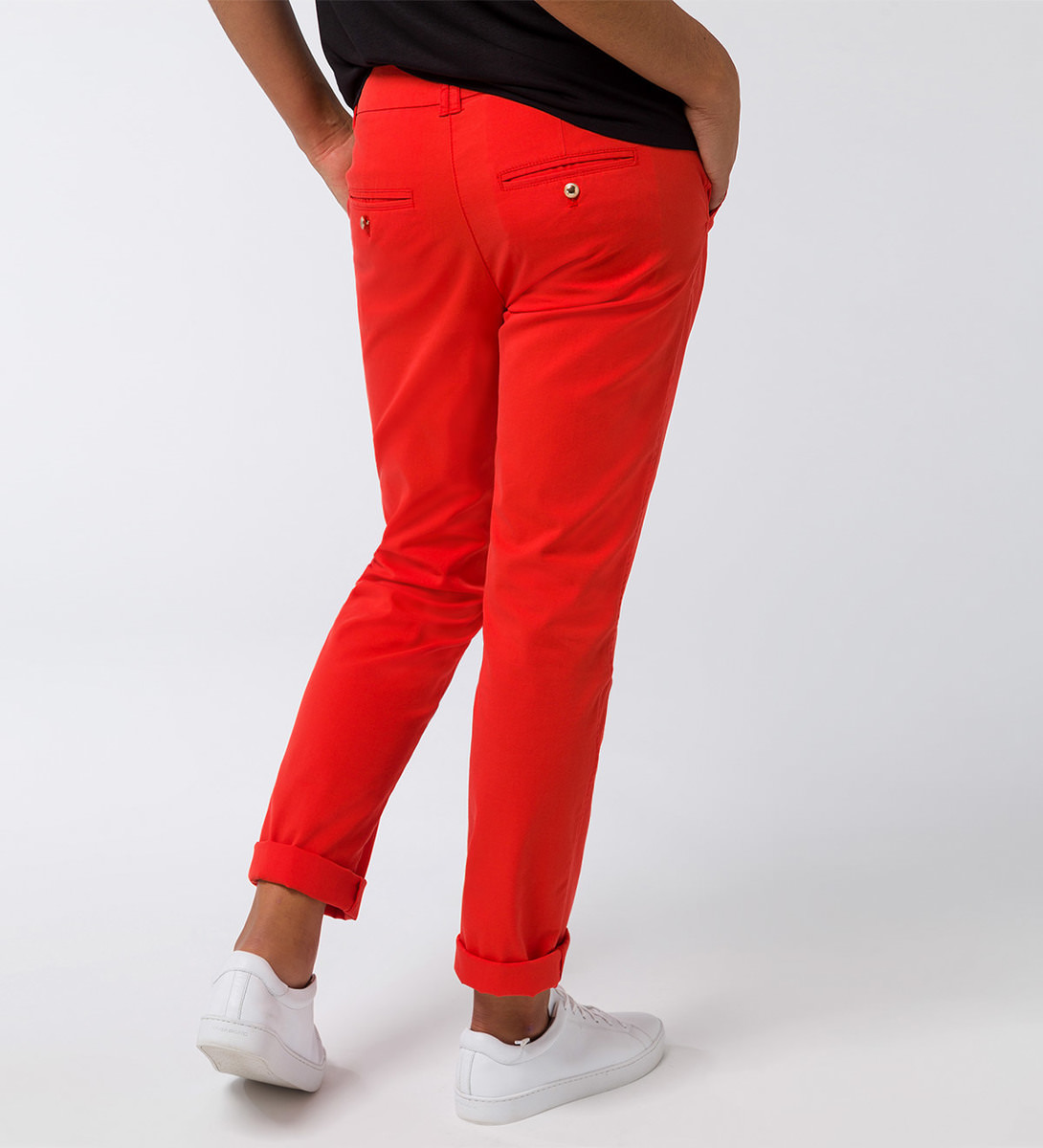 Chino 32 Inch in orange red