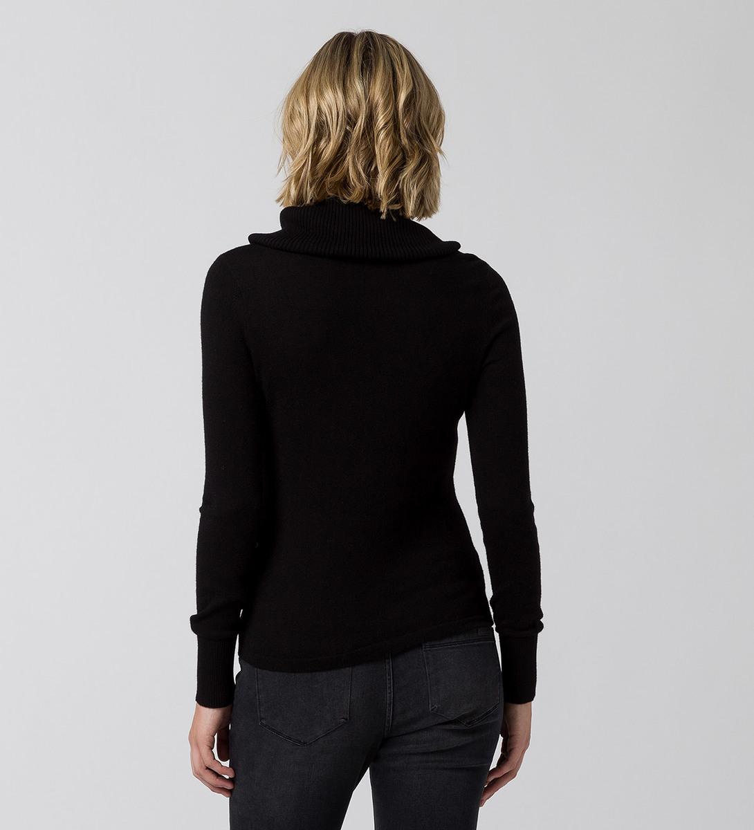 Pullover mit Kaschmir in black