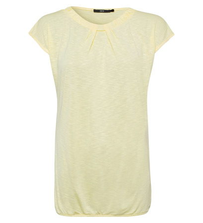 T-Shirt aus Flammgarn in vanilla ice