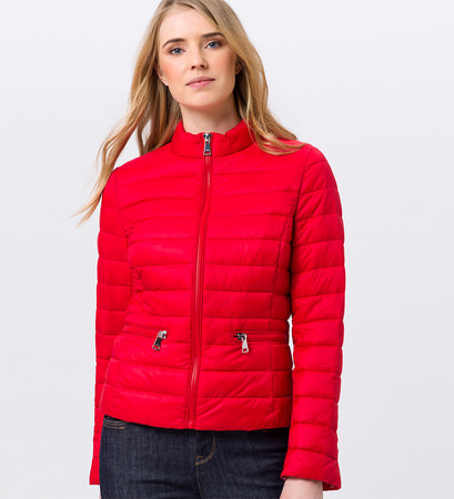 Leichte Steppjacke in fresh red