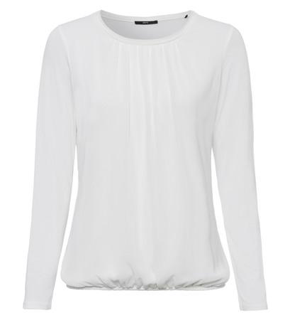 Blusenshirt in offwhite