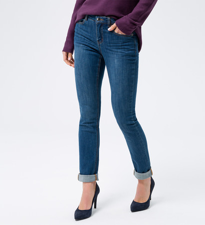 Jeans im Five-Pocket-Design 32 Inch in mid blue soft wash