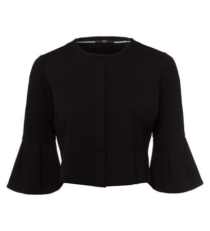 Blazer mit Druckknöpfen in black