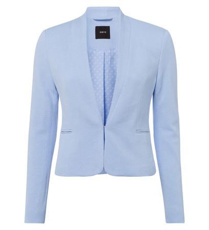 Blazer in Piqué-Optik in blue