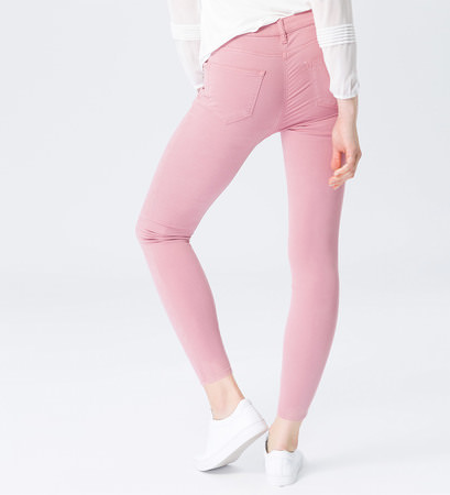 Jeans im 5-Pocket-Style 28 Inch in ash rose