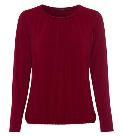 Blusenshirt in wine red
