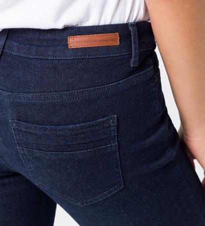 Jeans in Skinny Fit in rinse wash denim