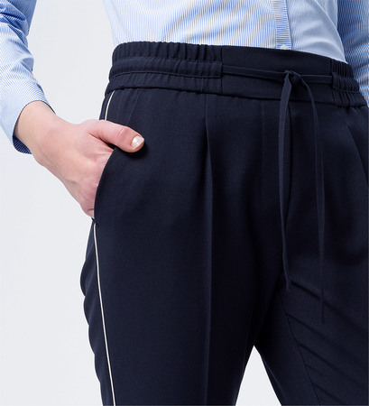 Hose im Athleisure-Look 28 Inch in blue black
