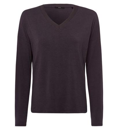 Shirt in weicher Jerseyqualität in anthracite