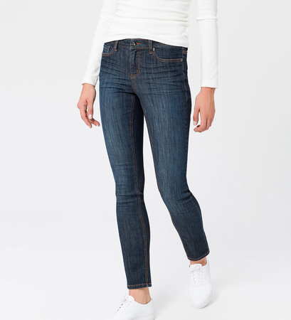 Jeans Slim fit  32 Inch in dark blue stone washed