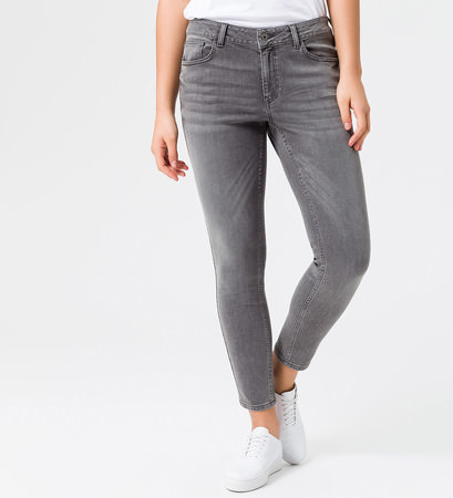 Jeans im Five-Pocket-Design in authentic grey denim
