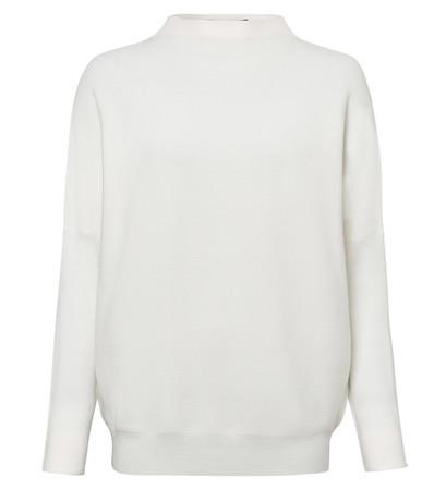Pullover mit Turtleneck in offwhite