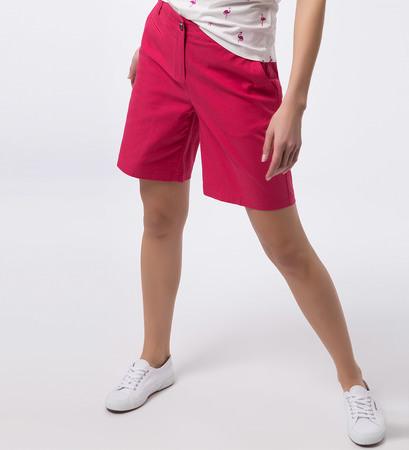 Shorts mit Paspeltaschen in bright pink