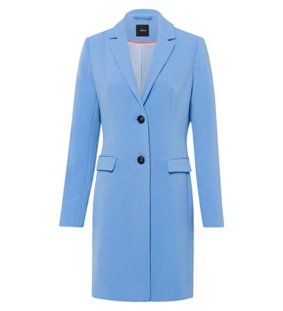 Mantel im klassischen Design in sky blue