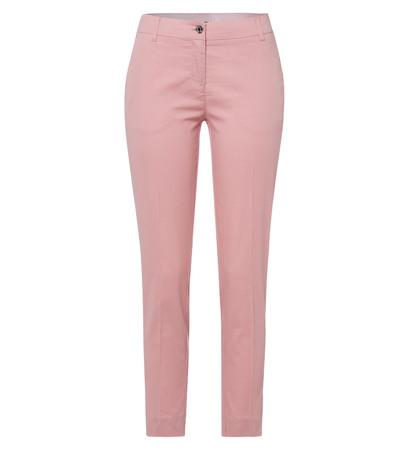Chino mit Bügelfalten in dusty pink
