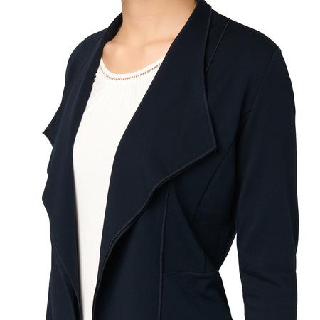 Cardigan Cara mit Schalkragen in blue black