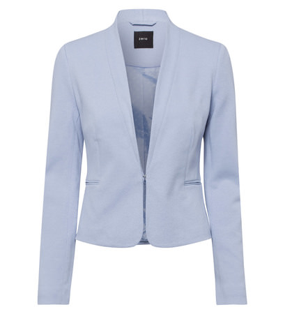 Blazer in arctic blue