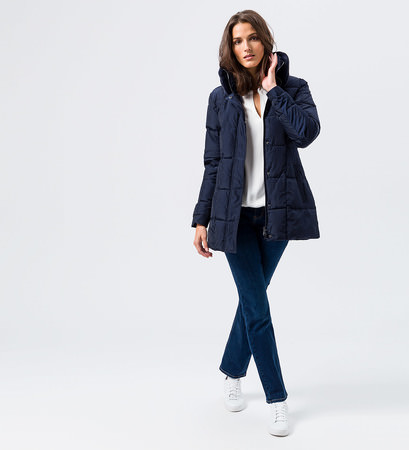 Jeans im Five-Pocket-Design in Mid Blue Soft Bleached