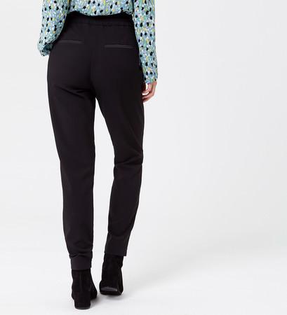 Hose mit Tunnelzug in black