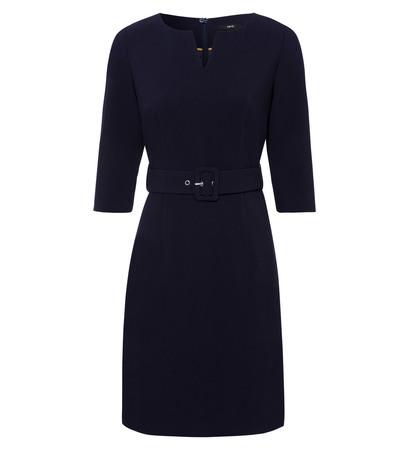 Kleid im Business-Look in blue black