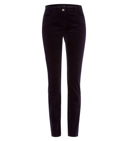 Hose aus Samt 32 Inch in blue black