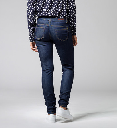 Push-Up Denim 32 Inch in rinse blur authentc
